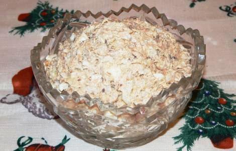 Салат из рыбы рецепт очень вкусный пошаговый