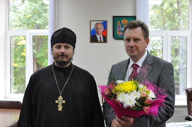 Братия монастыря поздравила