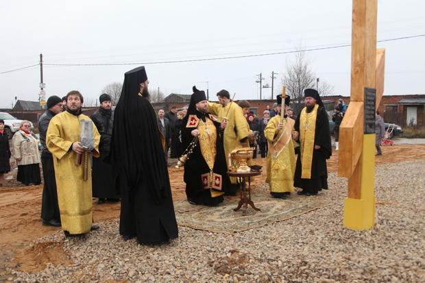 Наместник монастыря совершил